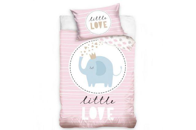 Premium gultas veļa Sweet Love Satīna palagi TavsSapnis