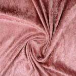 Plāns samts ar burzījuma efektu Old Pink|Satininės paklodės|TavsSapnis