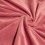 Kokvilnas velūrs pelnu rozā|Satīna palagi|TavsSapnis