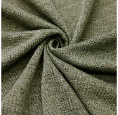 Adīts audums Old Khaki melanža krāsā|Šilti, megzti audiniai|TavsSapnis