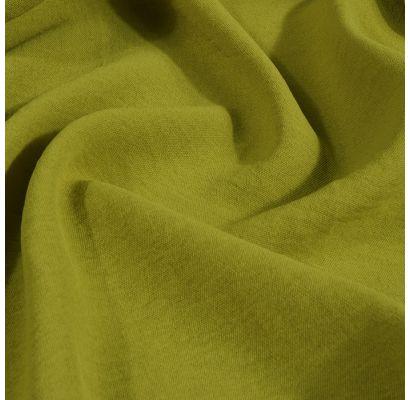 Vasarīgs Super elastic audums, dzeltenīga salātzaļa krāsa|Vasaras audumi|TavsSapnis