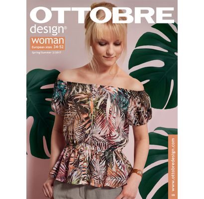 Ottobre design Woman Spring/Summer 2/2017|Audumi|TavsSapnis