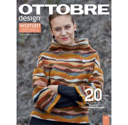 Ottobre design Woman Autumn/Winter 5/2020|Audiniai|TavsSapnis