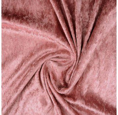 Plāns samts ar burzījuma efektu Old Pink, 0.80x1.50m|Audumi|TavsSapnis