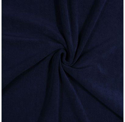 Frotē trikotāža Tumši zils, 1.60x1.50m Audiniai TavsSapnis