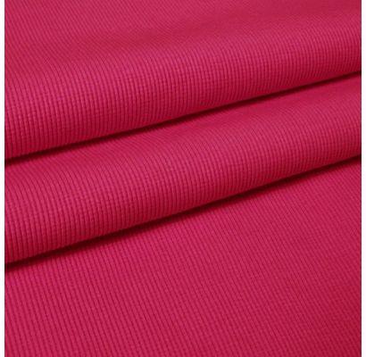 Rib trikotāža rozā|Audumi|TavsSapnis