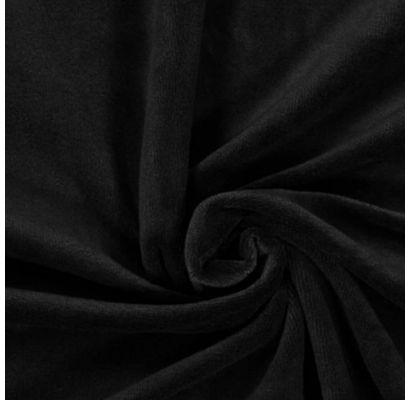 Veliūras Spring juodas, likutis 1.50x1.80m (saburzīts)|Audiniai|TavsSapnis