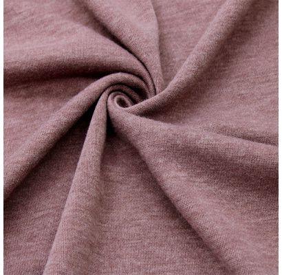 Trikotāžas audums Veca tumša ceriņu melanža|Šilti, megzti audiniai|TavsSapnis