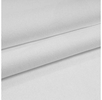 Rib trikotāža balta, 0.50x1.05m|Audumi|TavsSapnis