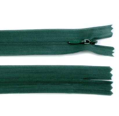 Rāvējslēdzējs tumši zaļa 55cm|Audumi|TavsSapnis