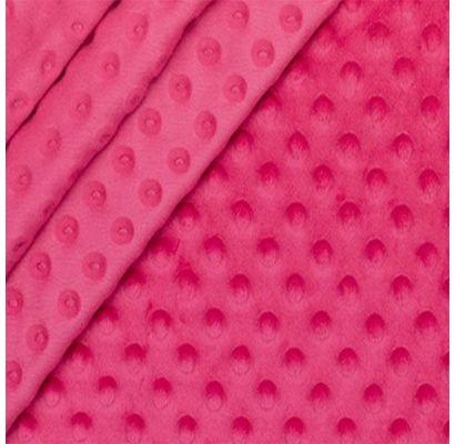 Minky audums spilgti rozā, 0.95x1.60m|Audumi|TavsSapnis
