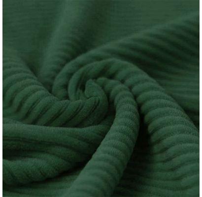 Velūra trikotāža, Izturēta zaļa krāsa, 1.10x1.40m|Audumi|TavsSapnis