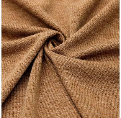 Adīts audums vecā oranžā melanžā|Šilti, megzti audiniai|TavsSapnis
