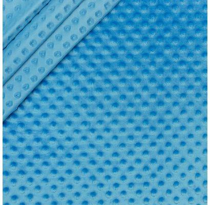 Minky audums skaista tirkīza kr., 2x1.60m|Audumi|TavsSapnis