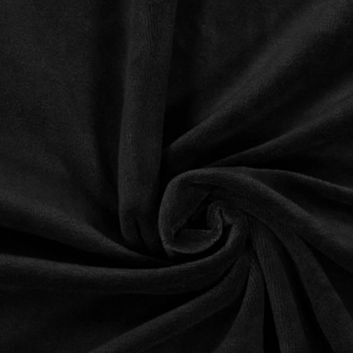 Velūra Pavasara melns,  1.50x1.80m (saburzīts)|Satīna palagi|TavsSapnis