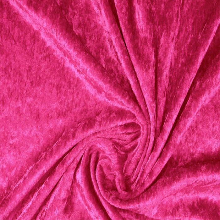 Plāns samts, ar burzījuma efektu Bright pink|Satīna palagi|TavsSapnis