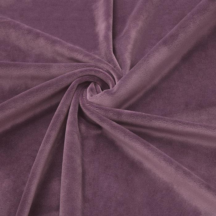 Jauns mīksts velūrs Dark old lilac, 2.10x1.80m (saburzīts)|Satīna palagi|TavsSapnis